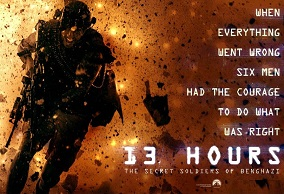 13 hours film poster