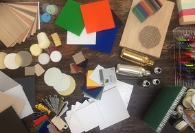 Image showing lots of Materials and Different Finishes